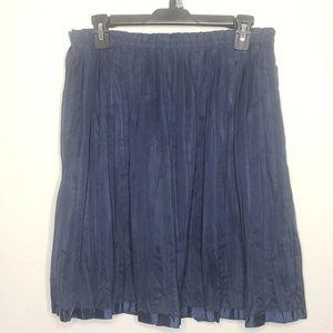 Gap Pleated A-line Skirt